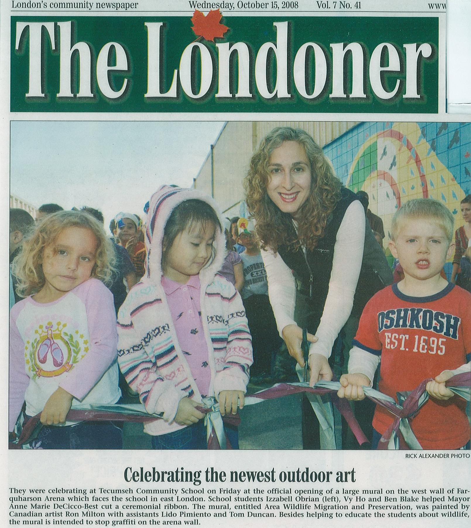 The Londoner, October 15, 2008